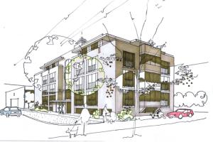 Appartementen flats hoogbouw